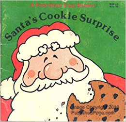 Amazon Com Santa S Cookie Surprise First Start Easy Reader