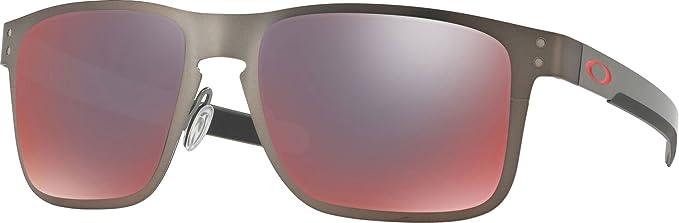 Oakley 0OO4123 Gafas de sol, Matte Gunmetal, 55 para Hombre ...