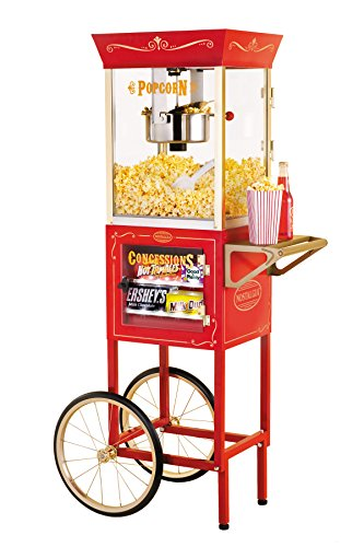 082677390059 - Nostalgia CCP610 59-Inch Commercial 8-Ounce Kettle Popcorn & Concession Cart carousel main 0