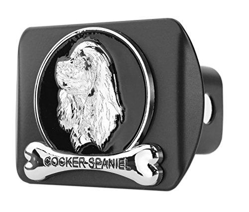 (eVerHITCH Dog Chrome 3D Badge Emblem Metal Trailer Hitch Cover (Fits 2