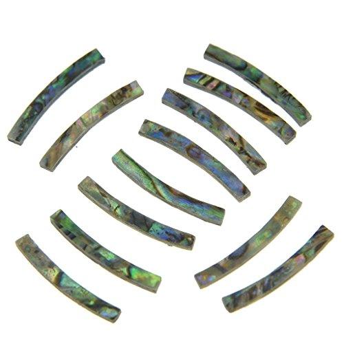 - KAISH Ukulele Rosette Paua Abalone Sound Hole Inlay Strips 65x2x1.5mm