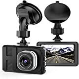 """Dash Cam,Camera for Cars .with Full HD egree Super Wide Angle Cameras, 3.0"""" TFT。 Displ 1080P 170 D-3"""