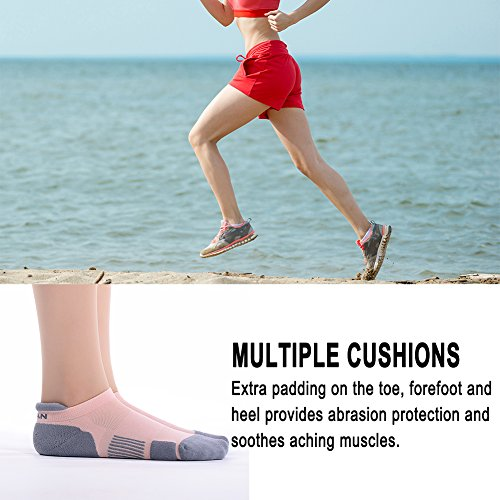 Low Cut Running Socks MEIKAN Athletic Coolmax Tab Socks for Men & Women 1,3,6 Pairs