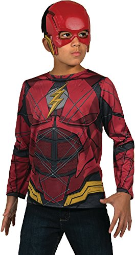 Rubie's Justice League Child's Flash Costume Top and Mask -