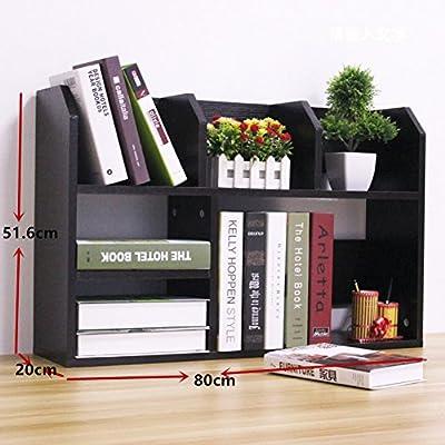 Rart Organizador de escritorio de oficina diy,Gran capacidad libro ...