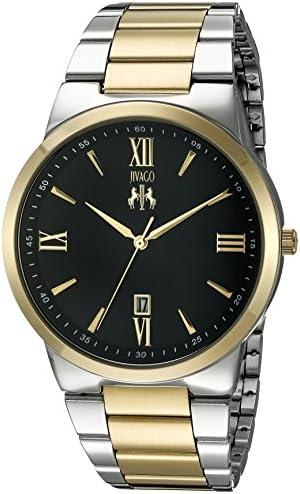 Jivago Men's JV3513 Clarity Analog Display Quartz Two-Tone Watch