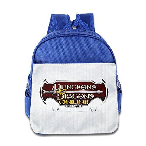 MoMo Unisex Dungeons & Dragons Children Backpacks Bags For Little Kids