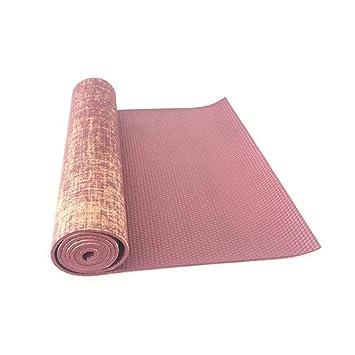 NFHNBABJ Estera De Yoga 183/61 / 0.5 Cm Estera De Yoga ...