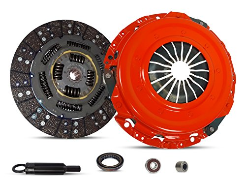 Clutch Kit Works With Gmc Sierra Chevy Silverado Sierra 1500 Ls Lt Wt Sl Sle Slt Z71 2002-2006 4.8L V8 GAS OHV 5.3L V8 FLEX OHV Naturally Aspirated (Stage 1)
