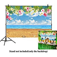 Allenjoy 7x5ft photography backdrops Tropical party Birthday Hawaii Summer Beach banner photo studio booth background newborn baby shower photocall