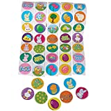 Assorted Easter Theme Stickers - 500 Pack