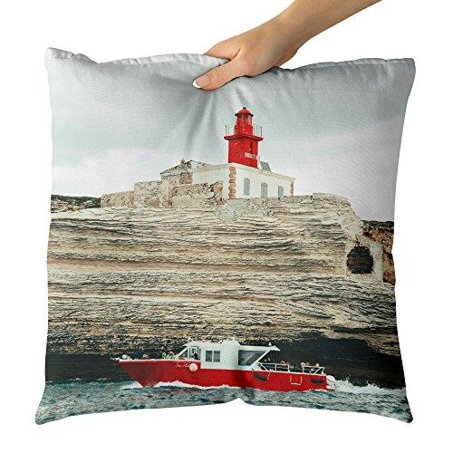 Westlake Art - Headlight Sea - Decorative Throw Pillow Cushion - Picture Photography Artwork Home Decor Living Room - 18x18 Inch (81AD1)