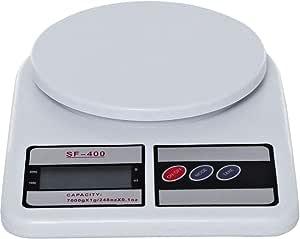 ميزان المتروني اس اف- عرض ال سي دي 400، ابيض