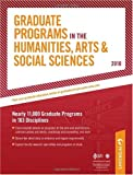 Graduate Programs in the Humanities, Arts and Social Sciences 2010, Peterson's, 0768927099