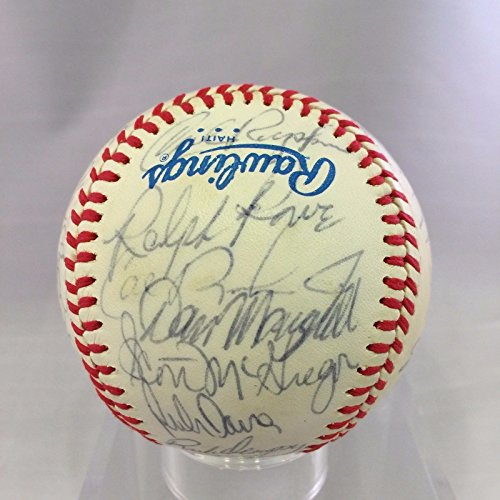 Baltimore Orioles Team Signed Baseball (1983 Baltimore Orioles World Series Champs Team Signed Baseball Cal Ripken)