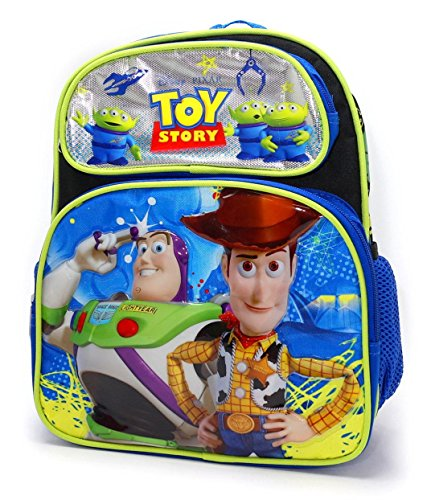 Disney Toys For Boys : Disney toy story boys quot d black blue backpack woody and