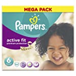 Pampers Mega Box Active Fit Nappies S...