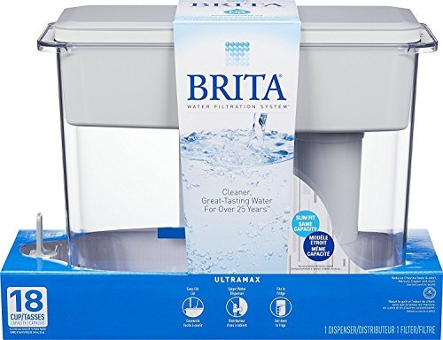 Brita 35034 Ultramax Water Dispenser, 18-Cup Capacity