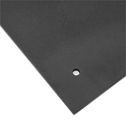 Best Choice Products 38.5lb Steel Square Patio Umbrella Base Stand w/Tightening Knob and Anchor Holes - Black by Best Choice Products (Image #4)