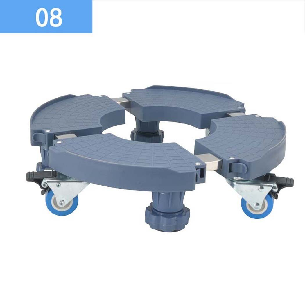 Washing Machine Base, Universal Multi-functional Adjustable Base With Casters,for Washing Machine,Dryer And Refrigerator (Size : 08)