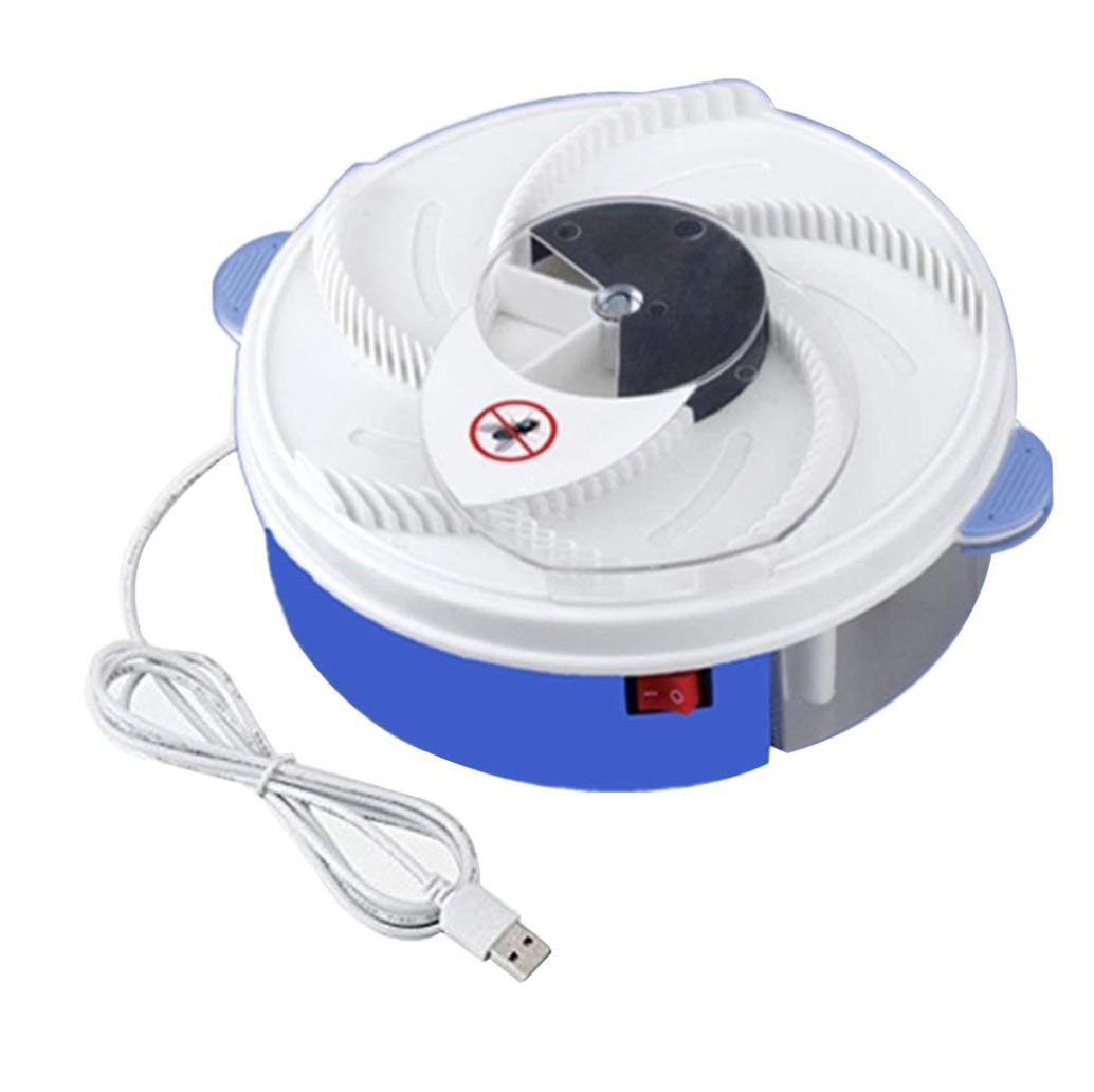 Sonmer USB Port Fly Trap Device,With Trapping Food