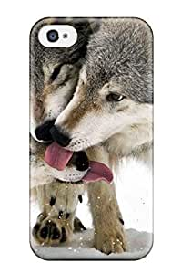 Best 9858231K64354321 Anti-scratch Case Cover Animal Wolf Case For Apple Iphone 5/5S Case Cover