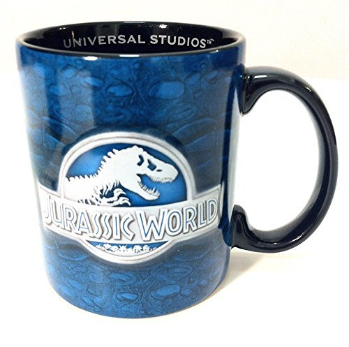 Universal Studios Jurassic Park Attraction Exclusive Jurassic World Ceramic Coffee Cup Mug