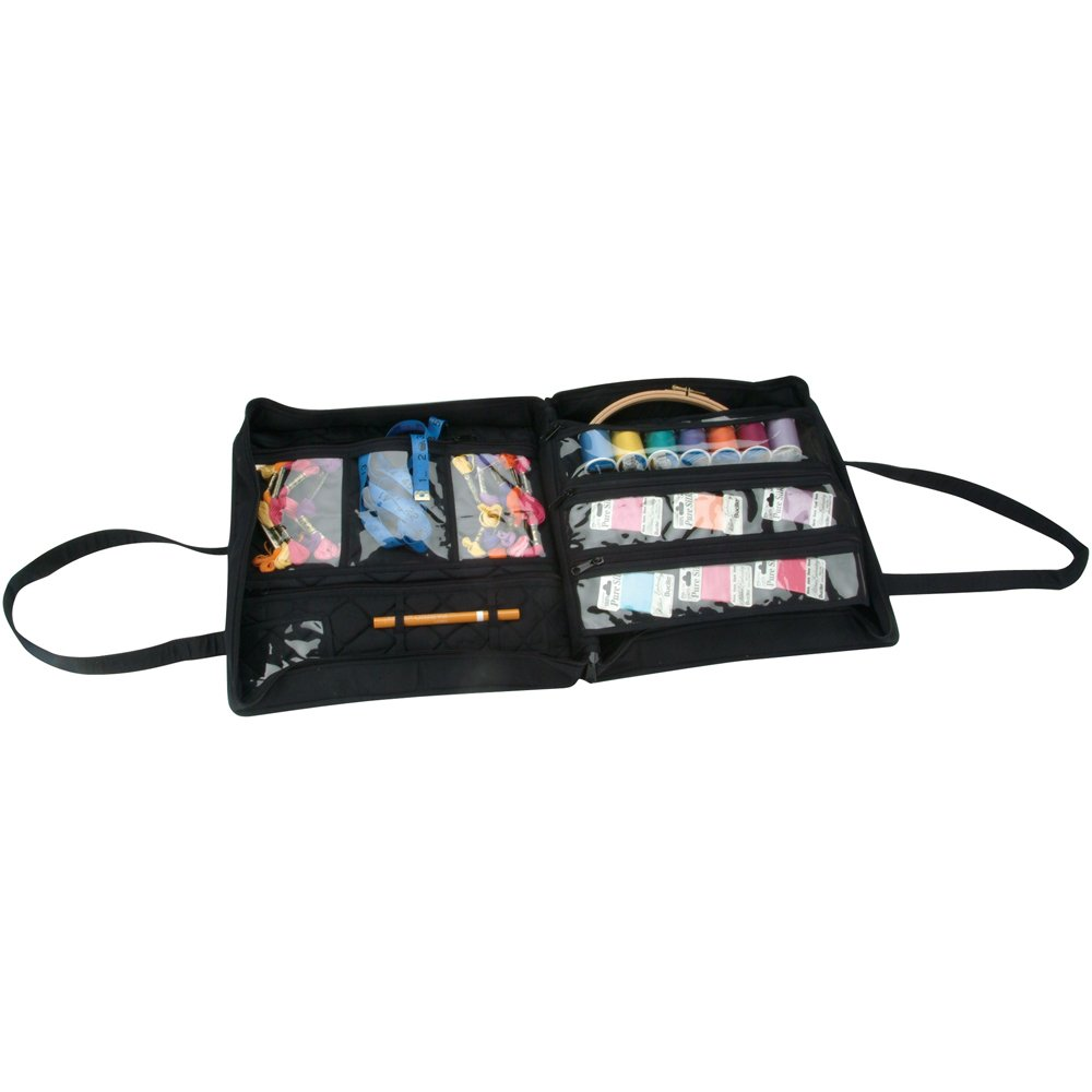 Yazzii Quilted Cotton Supreme Organizer, Black by Yazzii