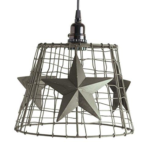 Rustic Star Pendant Light in US - 5