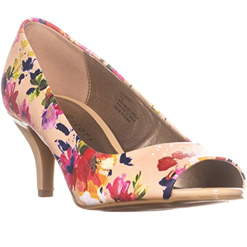 Rose Karen Toe Frauen Multi Klassische Peep Pumps Scott Mory 0FRq4CnBR