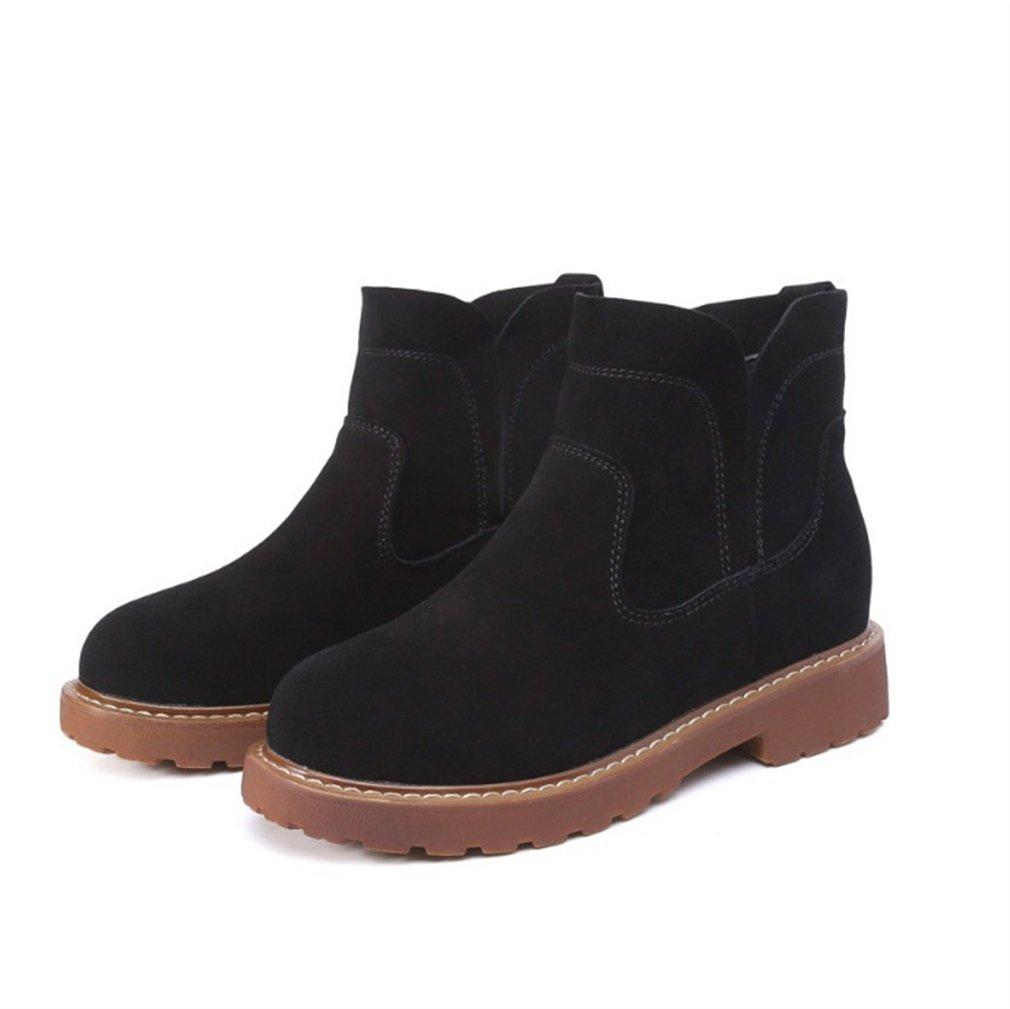 Xianshu Nubuck Flat confortable Boots confortable tendon bas matin B008KLJNAO bottes bottes Noir 0dcc25b - reprogrammed.space