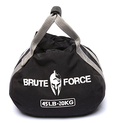 Brute Force Kettlebells: Adjustable Kettlebell, The Perfect Workout Equipment for Home + Crossfit Equipment, Sandbag Training with Sand Kettlebells