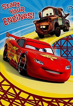 Amazon.com: Rayo McQueen y Mater comenzar su motores ...