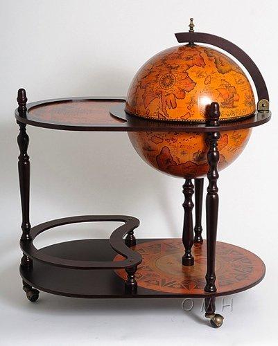 Amazing Globe Drink Trolley Liquor Cabinet Amazon Co Uk Kitchen Home Interior And Landscaping Eliaenasavecom