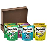 TEMPTATIONS Classic Treats for Cats Feline Favorites 3 Ounces (6-Pouch Variety Pack)
