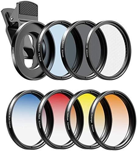Apexel – Kit de filtros de Lente de cámara
