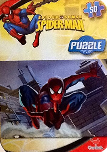 Collectable Miniature Puzzle in a Tin ~ Spider-Man ~ 50 Piece from Marvel