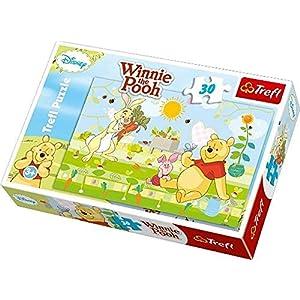 Trefl 18159 Puzzle Soggetto Winnie The Pooh Un Pomeriggio In Giardino 30 Pz 213 X 143 Cm