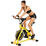 evokem Stationary Exercise Bike Equipment Home Gym Fitness Cycling Training Spin Bike Cardio Bike Machine with 40Ibs Flywheel and LCD Screen Review