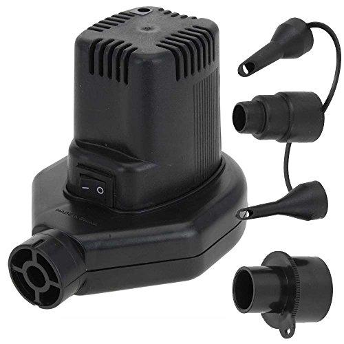 Pompe /électrique pour matelas gonflable pour prise 220V ET 12 volts allume cigare voiture