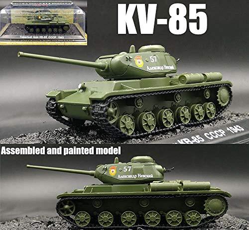 WWII Russian KV-85 Object 239 Tank Soviet Union 1943 1/72 diecast Tank Model