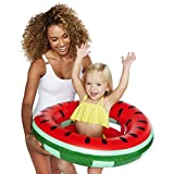 BigMouth One-in-A-Melon Watermelon Lil' Water Float-Pool for Infants and Kids Ages 1-3, Perfect for Beginners