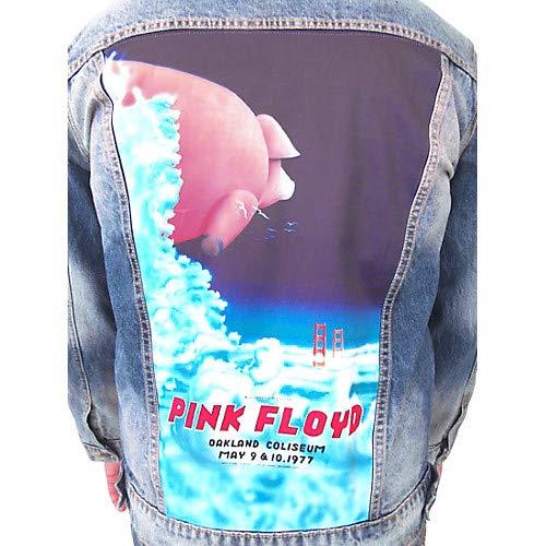 Pink Floyd - Oakland Coliseum '77 Pig In The Sky - Boys Denim Jacket