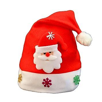 JUNMAONO Christmas Decoración, Sombreros De Navidad, Navidad Decoraciones, Adornos Navideños (1): Amazon.es: Hogar