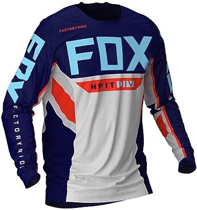 PYMNDZ Jerseys de Descenso para Hombre hpit Fox Camisas de ...