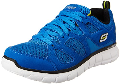 Skechers Vim- Turbo Ride 998090L, Zapatillas Deportivos, Niños Azul (Bleu)