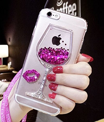 iphone Liquid Floating Glitter Sparkle