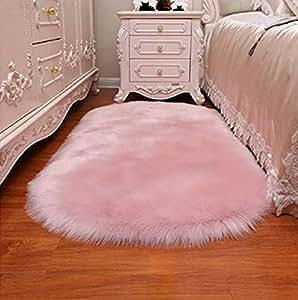 Amazon Com Faux Fur Rug Shag Fuzzy Fluffy Sheepskin Rug