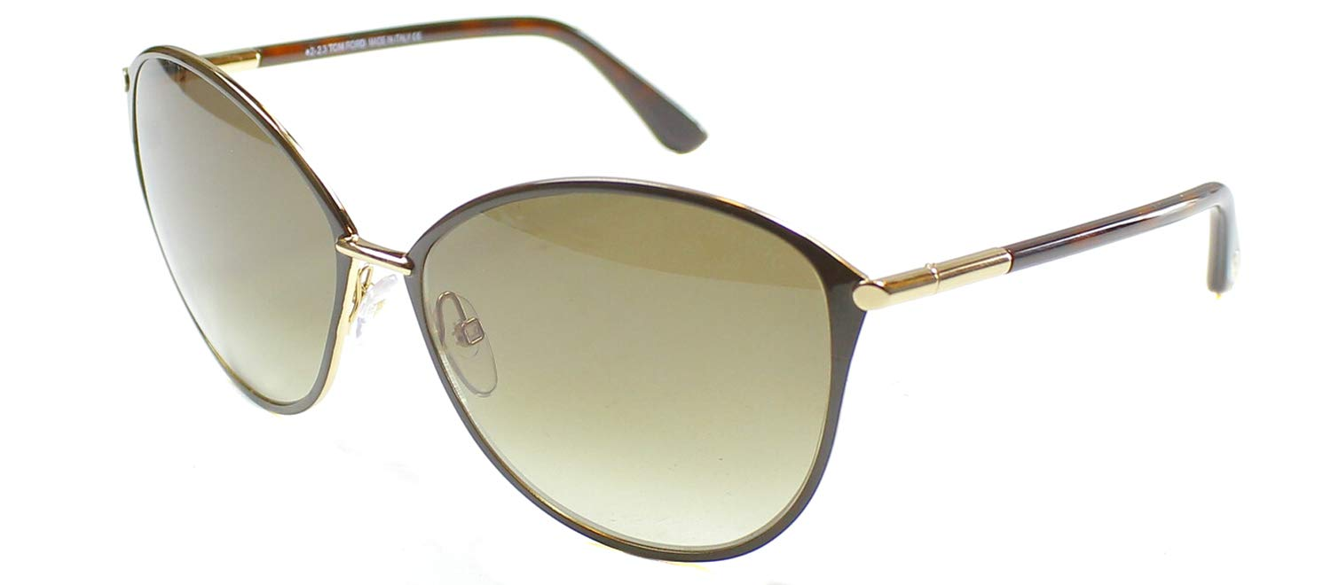 Tom Ford Sunglasses Women TF 320 Brown 28F Penelope 59mm by Tom Ford