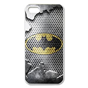 Back Case Cover with Batman Logo Hard Case for Apple iPhone 5
